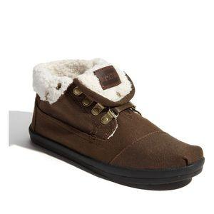 Toms Botas - Highlands' Fleece Chukka Boot. 8